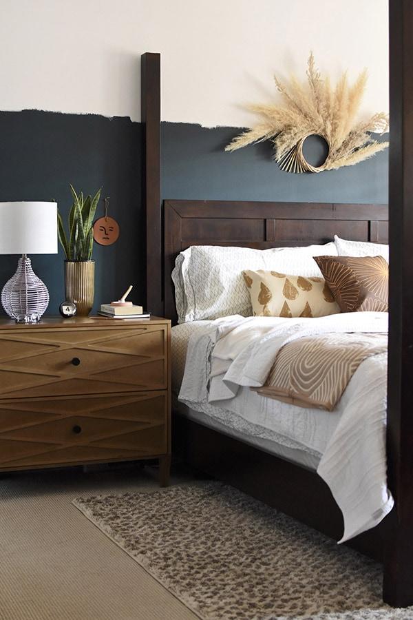 Moody Master Bedroom Refresh