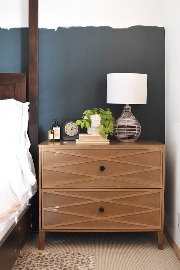 Eclectic Master Bedroom NightStand