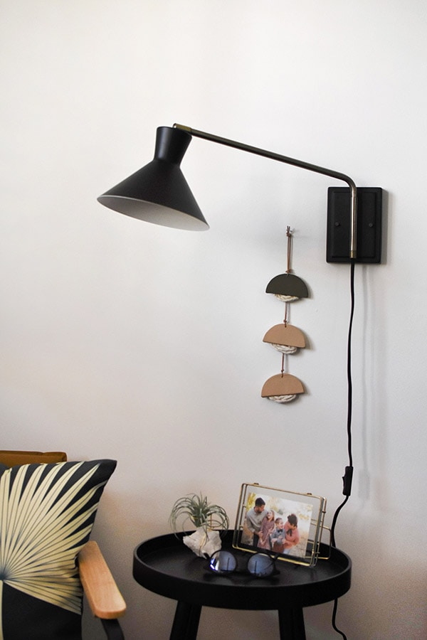 Swinging Scone Light Fixture