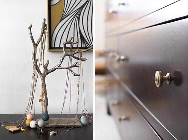 Master Bedroom Dresser Details