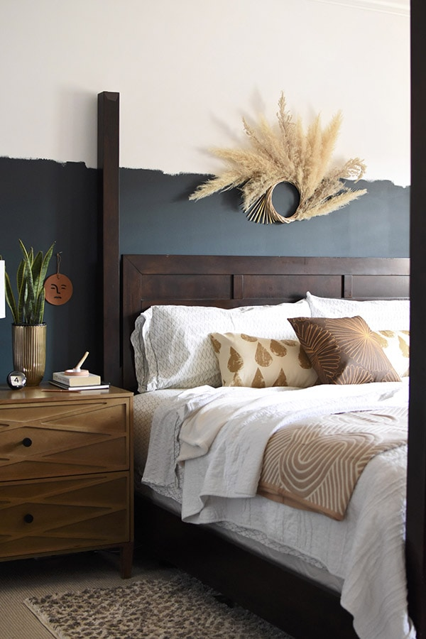 Moody Master Bedroom Refresh
