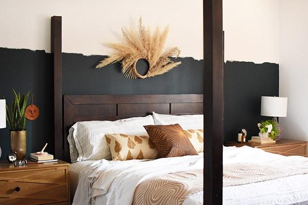 Artsy Master Bedroom