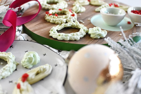 Holiday Cookie Display