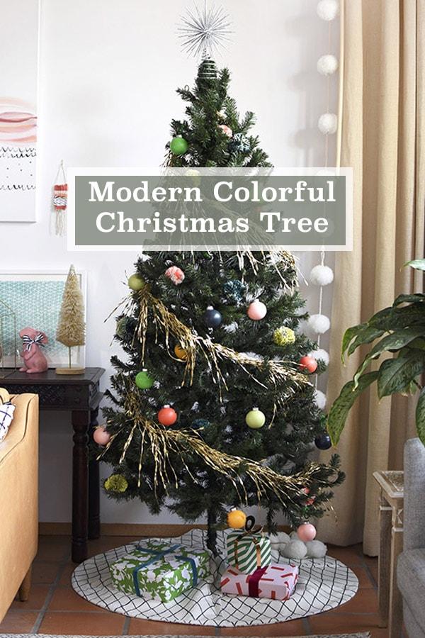Colorful Modern Christmas Tree