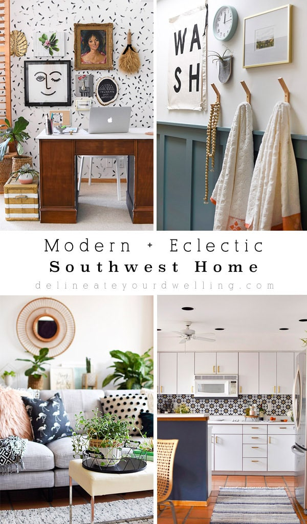Modern-Eclectic-Southwest Home