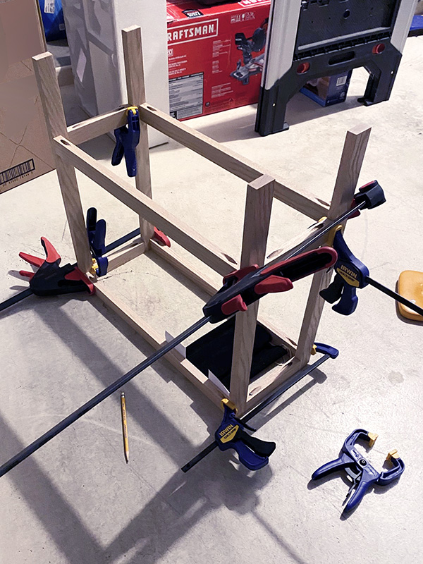 Clamp Side table