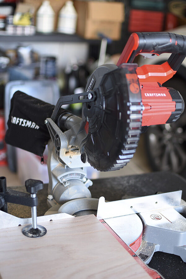Sliding Miter Saw cuts