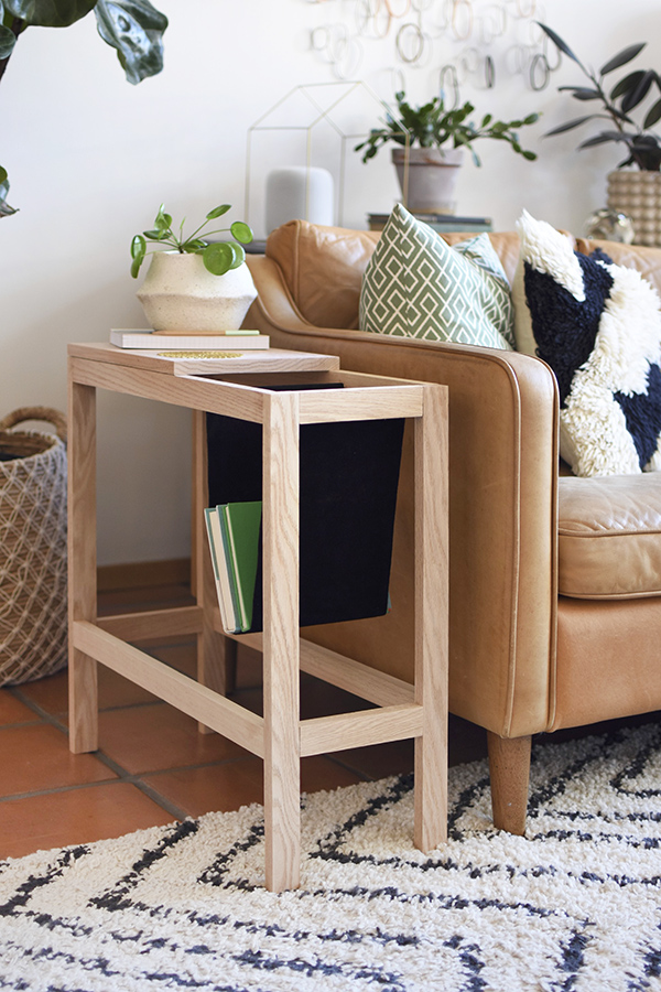 Modern Book Sling Side table