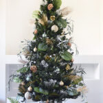 Monochromatic Plant and Nature Christmas Tree