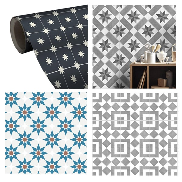 Favorite Tile Removable Wallpapers Moroccan