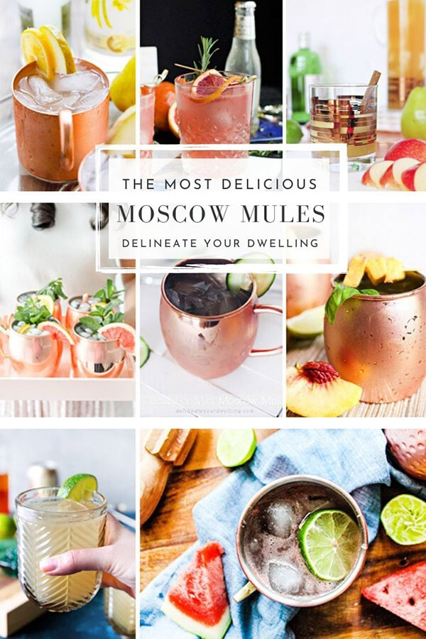 The Most delicious Moscow Mule recipes