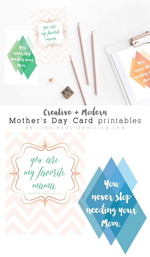 Mothers Day Card printables