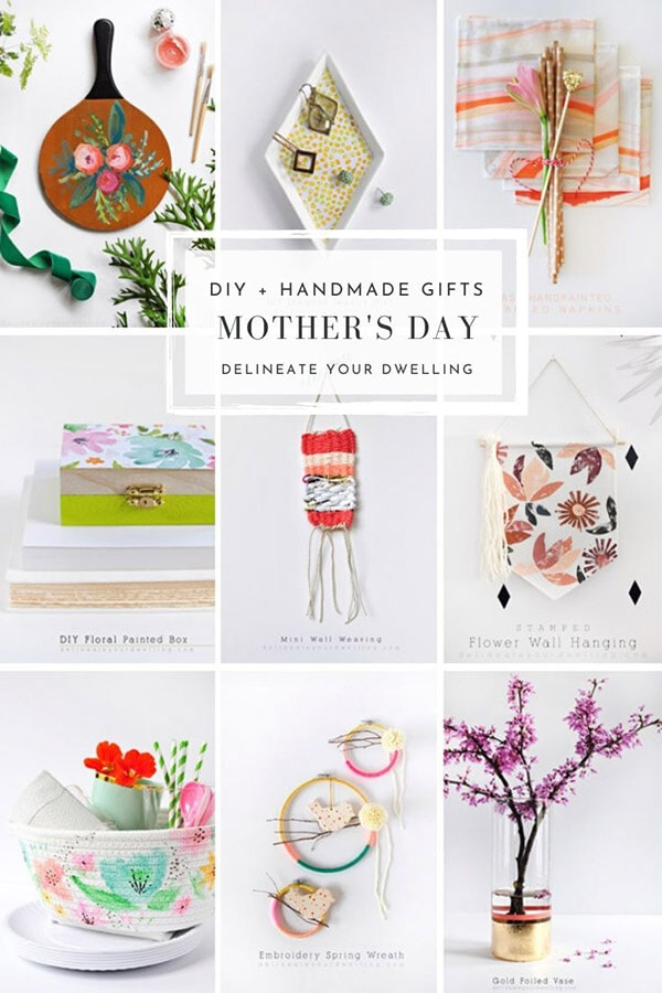 Mother's Day DIY and Handmade gifts