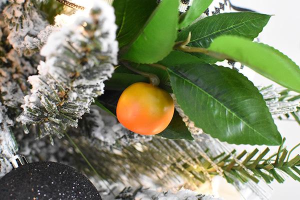 Faux Orange on a Christmas Tree