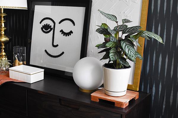Wink Face art