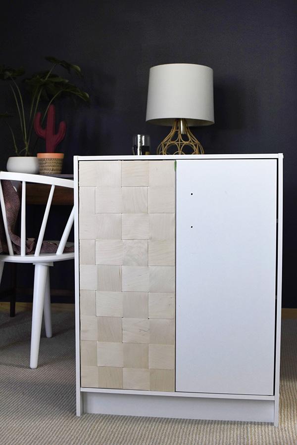Woven Wooden Cabinet progress