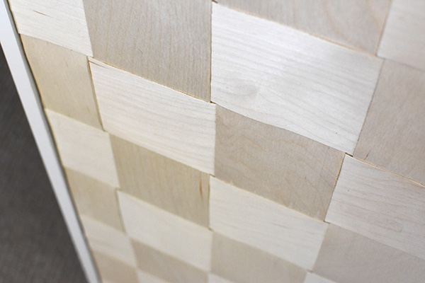 Woven Wooden Cabinet view