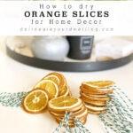 Orange Slices Decoration