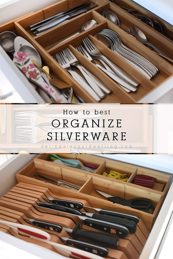 Organize your Silverware in a drawer