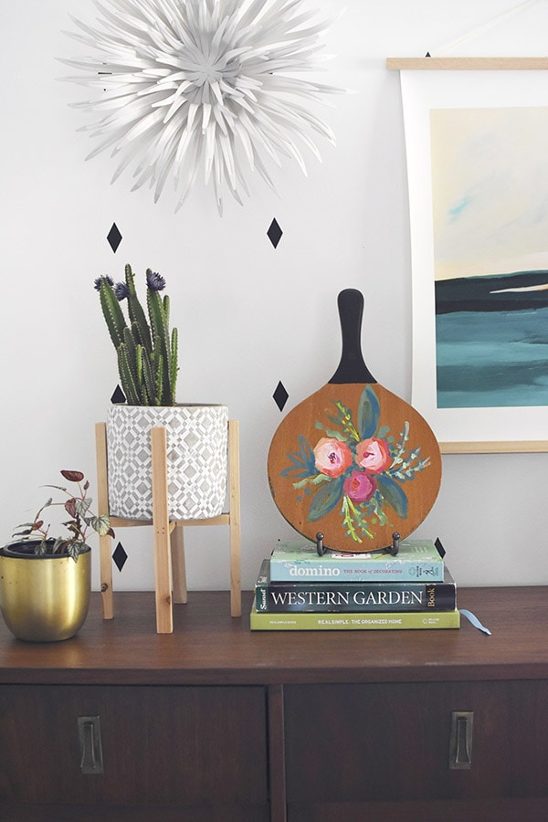 Colorful Abstract Flowers Decor