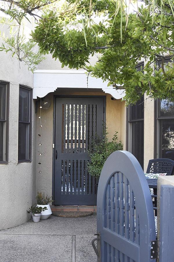 Painting Front Door