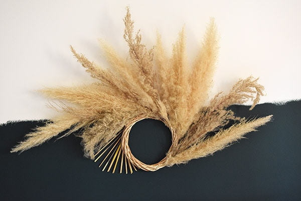 Pampas Grass Wreath-2