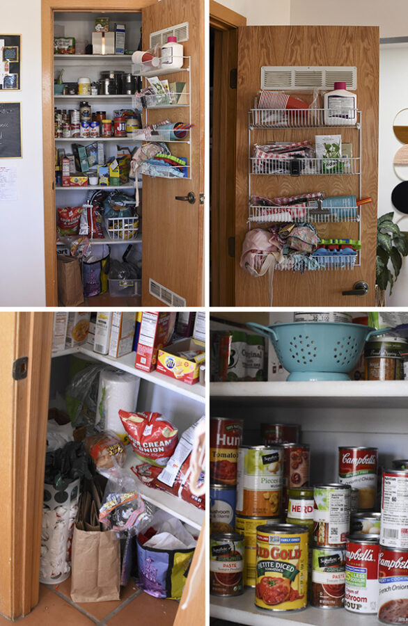 Disorganized Pantry