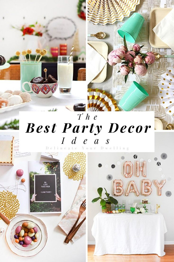 The Best Party Decor Ideas