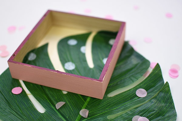 Pink and Plum Plant Box