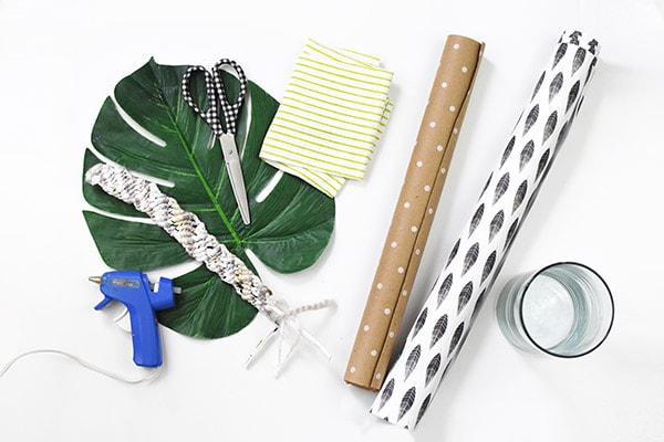 Plant Gift Wrap supplies