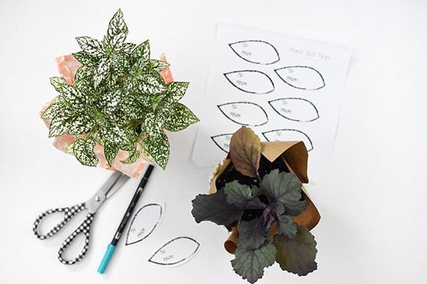 Printable Plant Gift tags