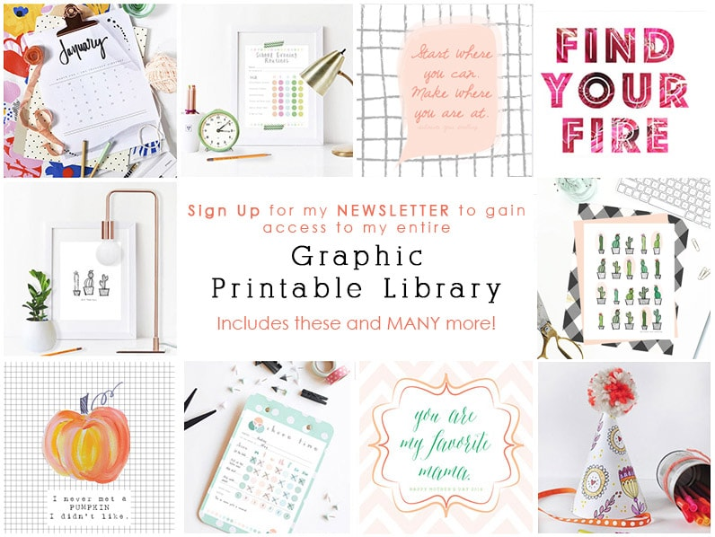Printable Library graphic-NEWSLETTER