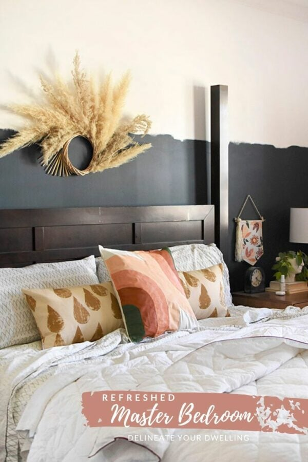 Refreshed Homemade Master Bedroom crafts