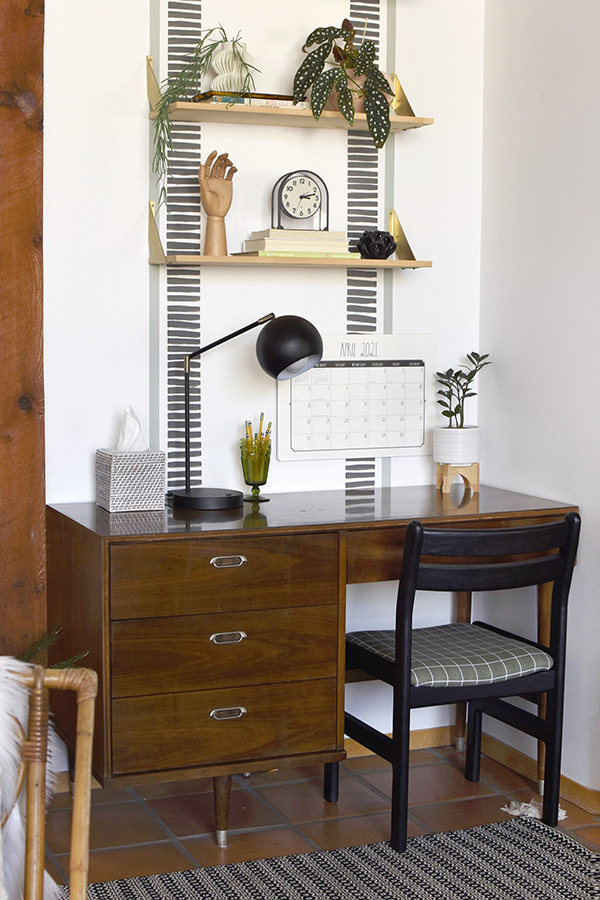 Mid Century Modern Desk and Chair