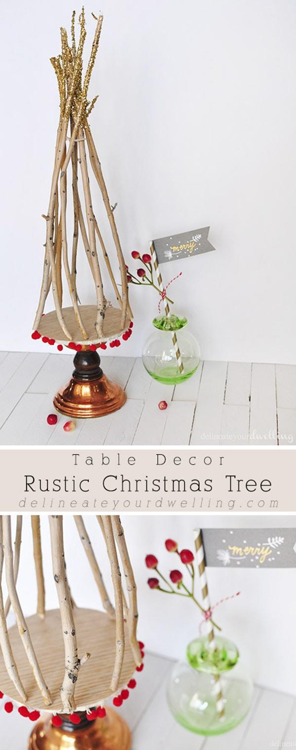Rustic Christmas Tree creation