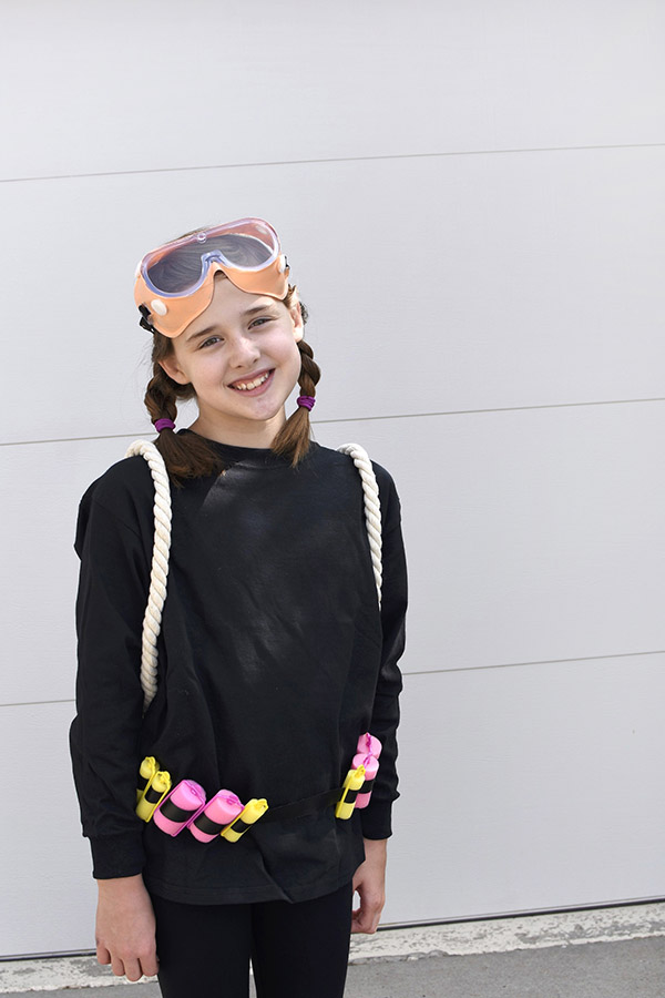Girl Halloween Scuba Diver Costume