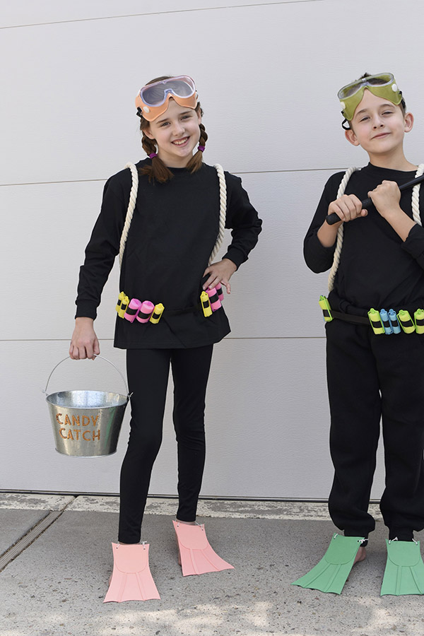 Scuba Diver DIY Halloween Costume
