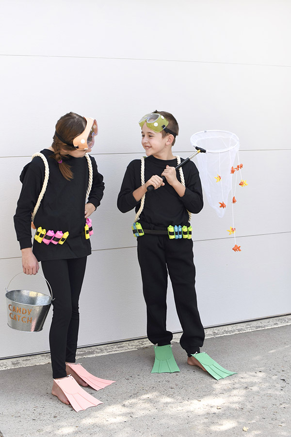 Scuba Diver Costume for Trick or Treating