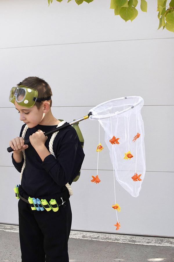 Kids Scuba Diver Outfit