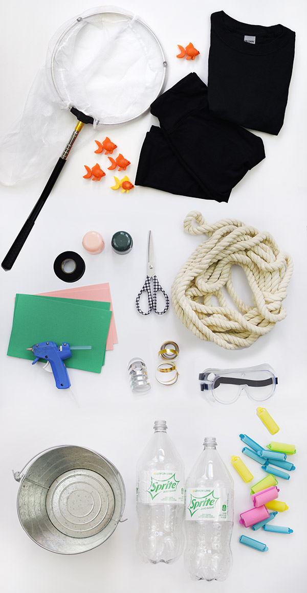 Scuba Diver Costume supplies
