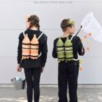 DIY Halloween Costume Scuba Diver