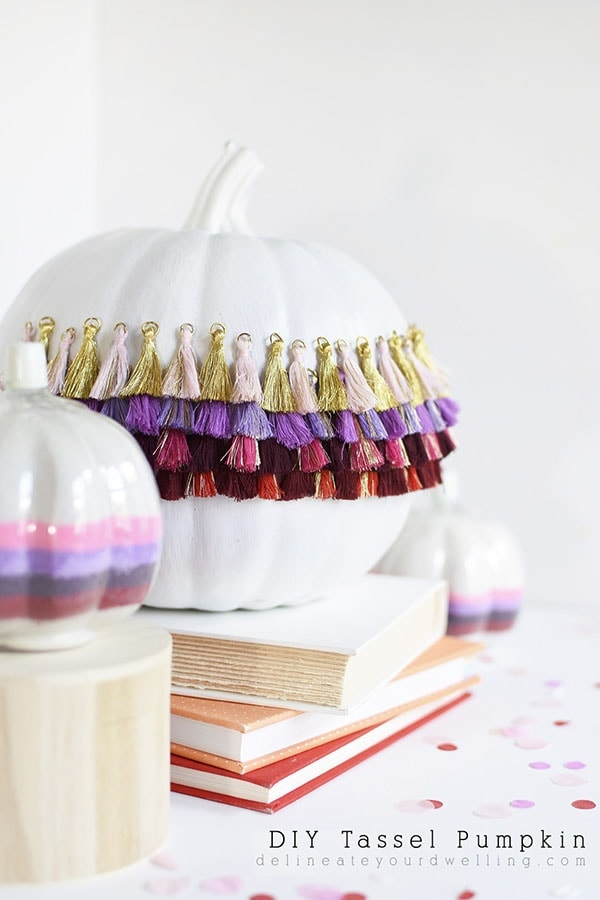 Simple Tassel Pumpkin
