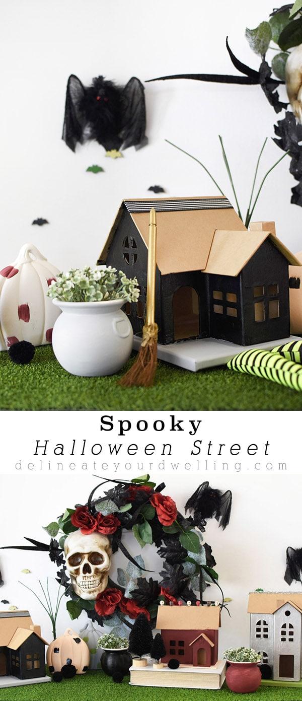 Spooky Halloween Street