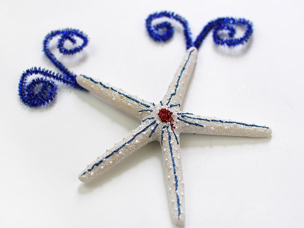 Firework Pipe Cleaner Starfish