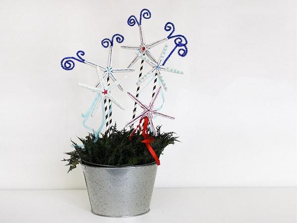 Firework Centerpiece Starfish
