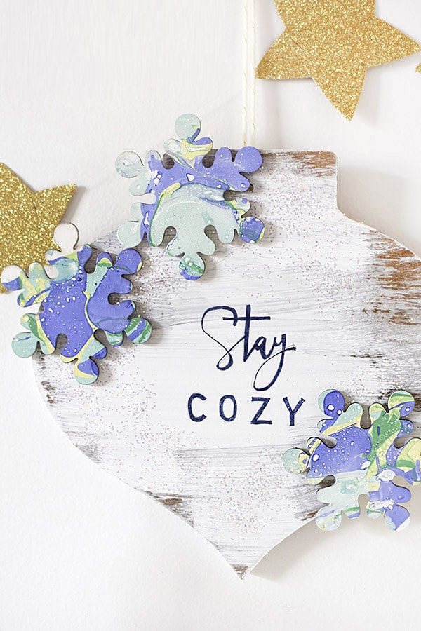 Stay Cozy Winter Wreath