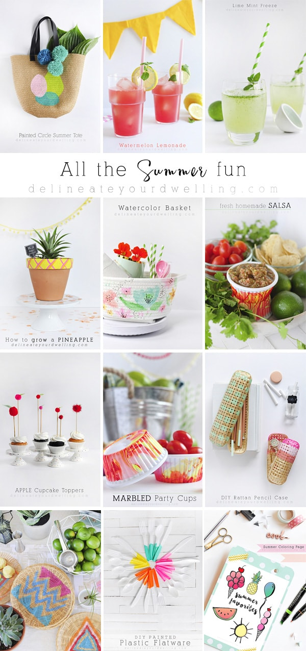 Summer fun, crafts, recipes and more