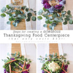Thanksgiving Grocery Centerpiece