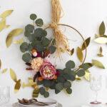 Thanksgiving Minimal Wreath