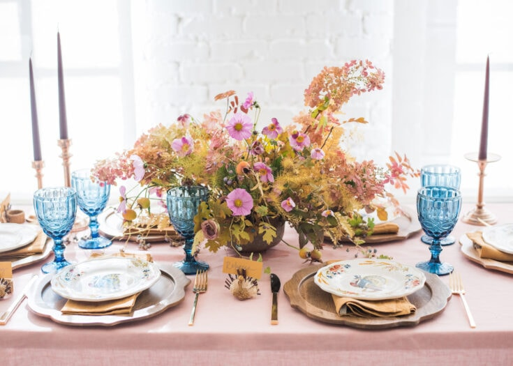 Thanksgiving Tablescape - The House That Lars Built